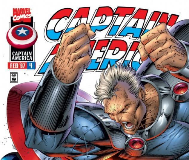 CAPTAIN AMERICA #4 COVER