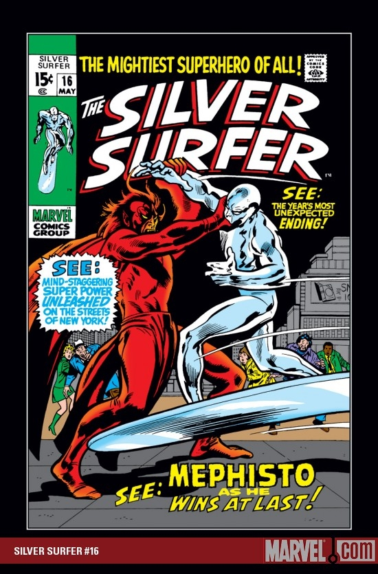 Silver Surfer (1968) #16