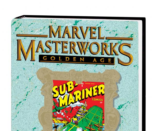 MARVEL MASTERWORKS: GOLDEN AGE SUB-MARINER VOL. 2 HC #0