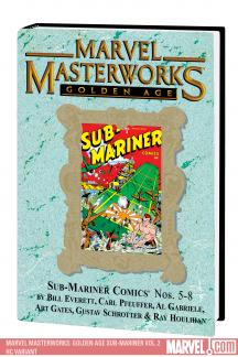 Marvel Masterworks: Golden Age Sub-Mariner Vol. 2 (Hardcover)