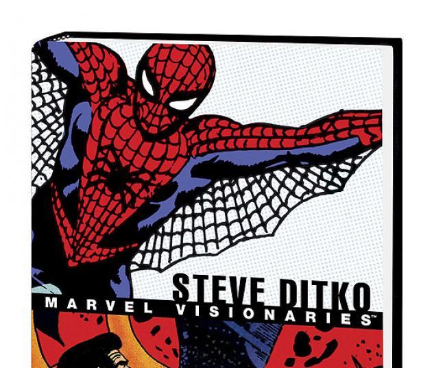 MARVEL VISIONARIES: STEVE DITKO COVER