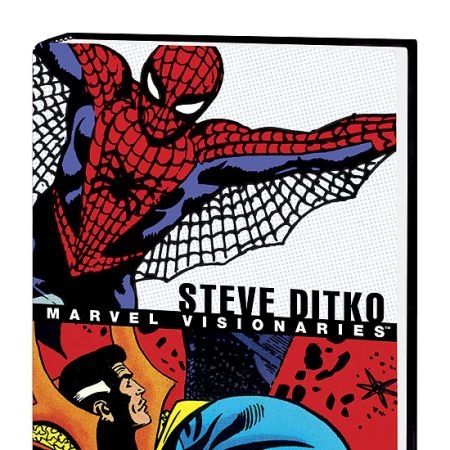 MARVEL VISIONARIES: STEVE DITKO COVER
