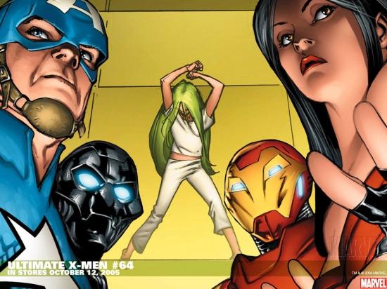 Ultimate X-Men (2000) #64 Wallpaper