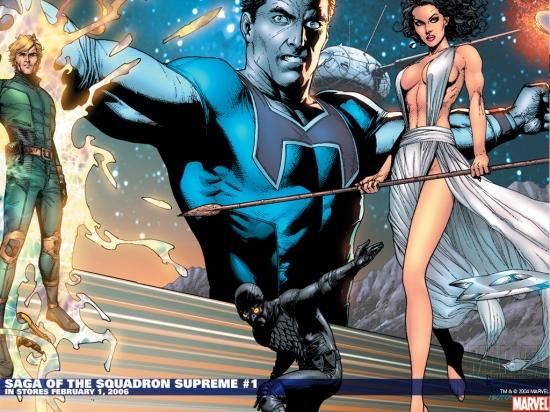 Saga of the Squadron Supreme (2006) #1 Wallpaper