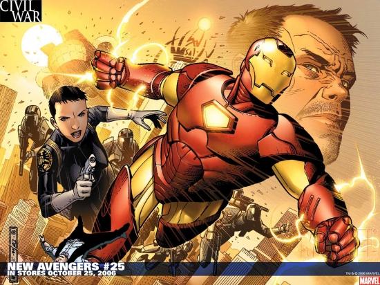 New Avengers (2004) #25 Wallpaper