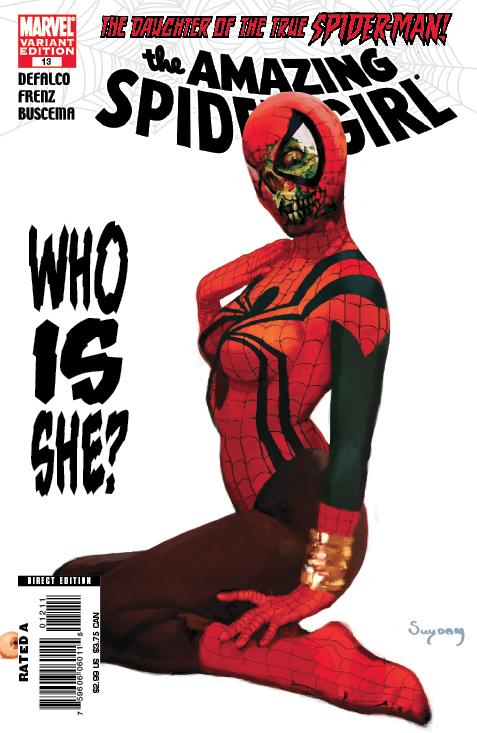 Amazing Spider-Girl (2006) #13 (Zombie Variant)