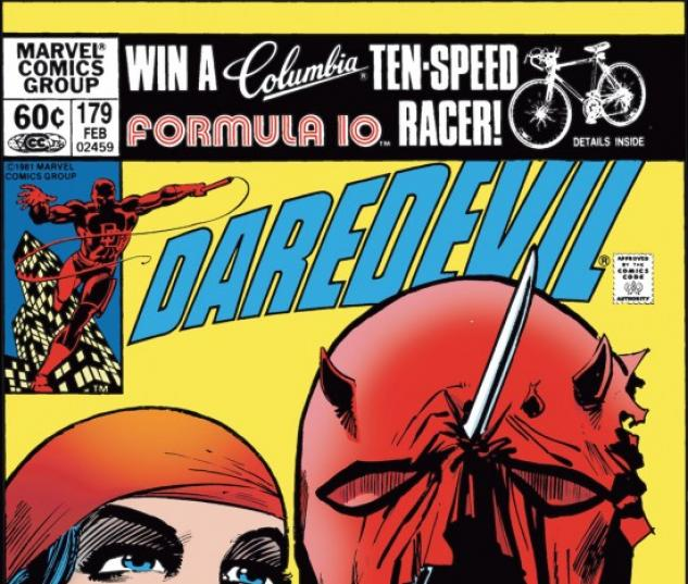 DAREDEVIL #179 COVER