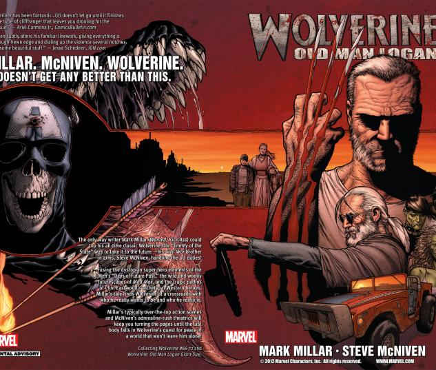Wolverine: Old Man Logan (2010) Cover