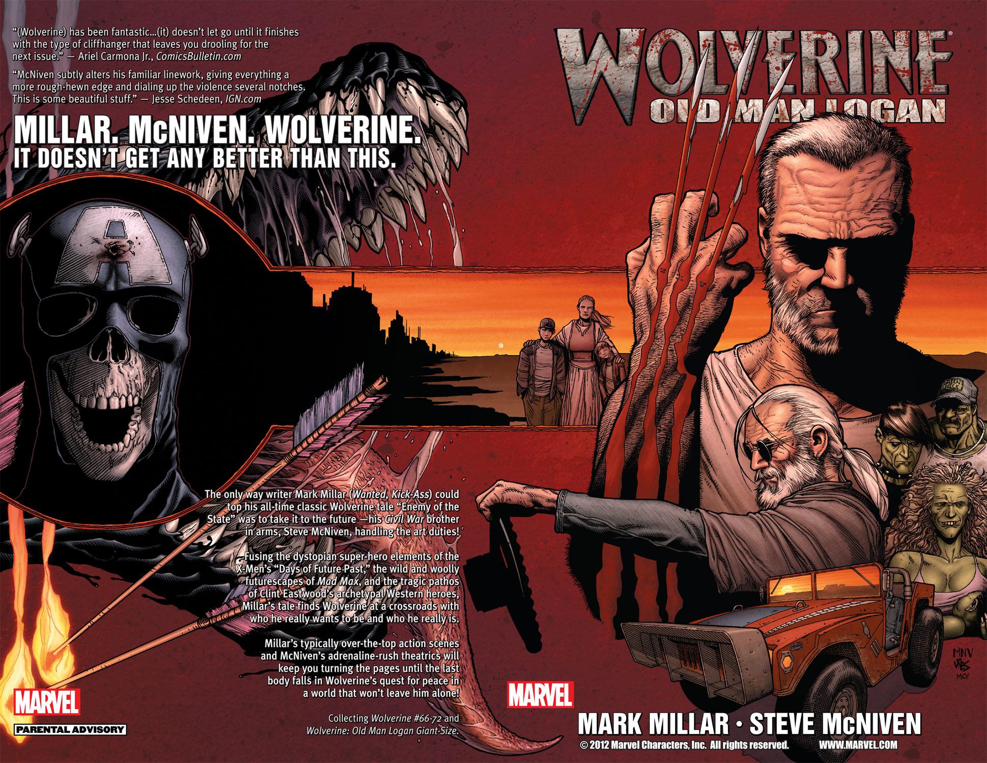 Wolverine: Old Man Logan (2010)