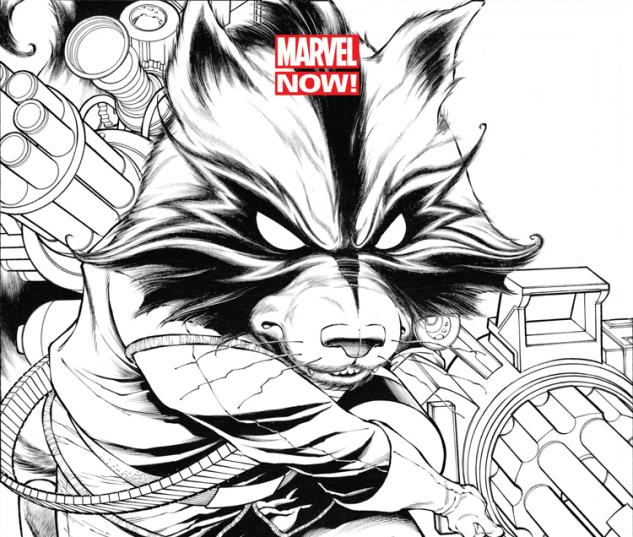 GUARDIANS OF THE GALAXY 1 QUESADA SKETCH VARIANT (NOW, 1 FOR 150, WITH DIGITAL CODE)