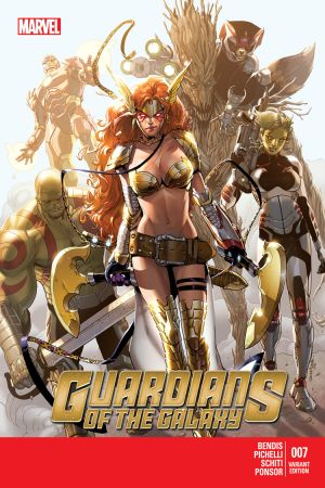 Guardians of the Galaxy (2013) #7 (Pichelli Variant)