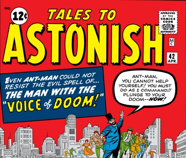 Tales to Astonish (1959) #42 Cover