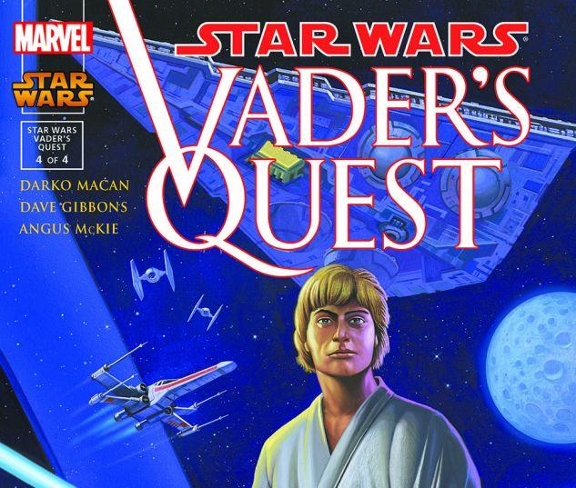 Star Wars: Vader's Quest (1999) #4