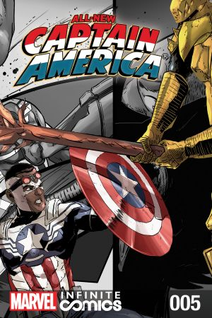 All-New Captain America: Fear Him Infinite Comic #5