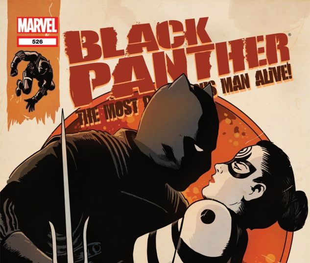BLACK PANTHER: THE MOST DANGEROUS MAN ALIVE (2010) #526 Cover