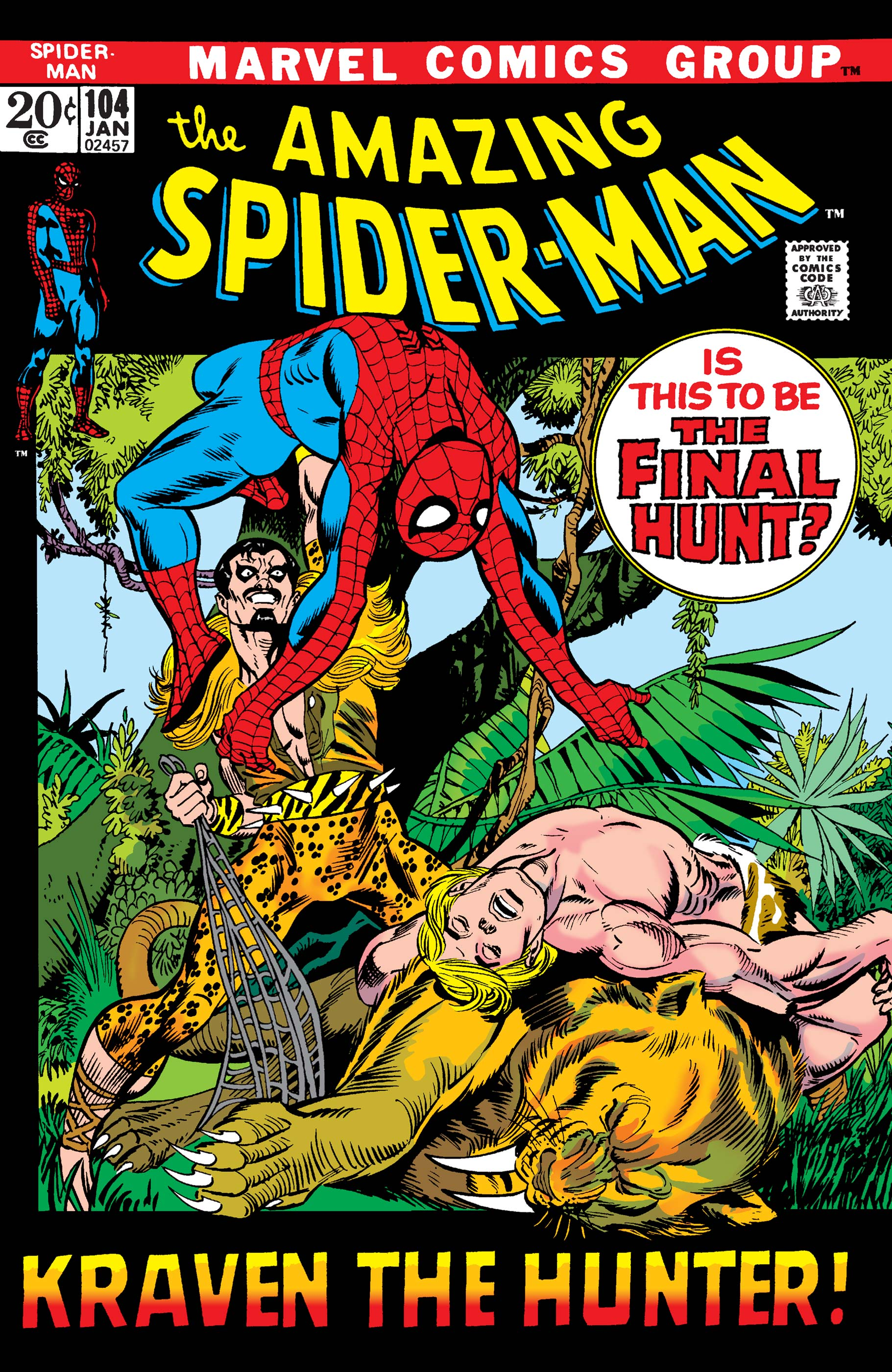 The Amazing Spider-Man (1963) #104