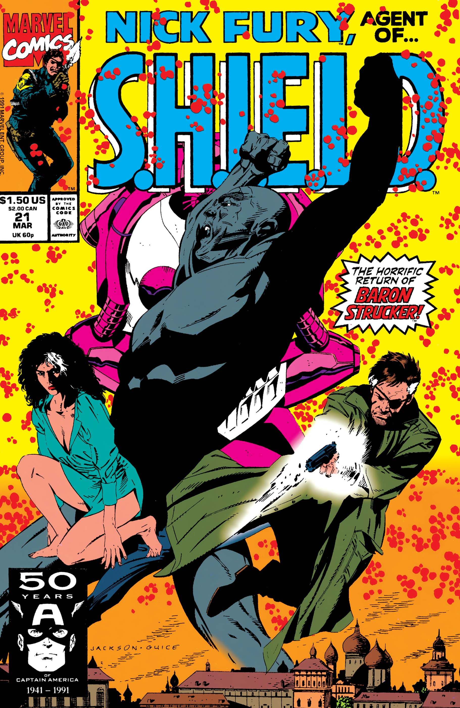Nick Fury, Agent of S.H.I.E.L.D. (1989) #21