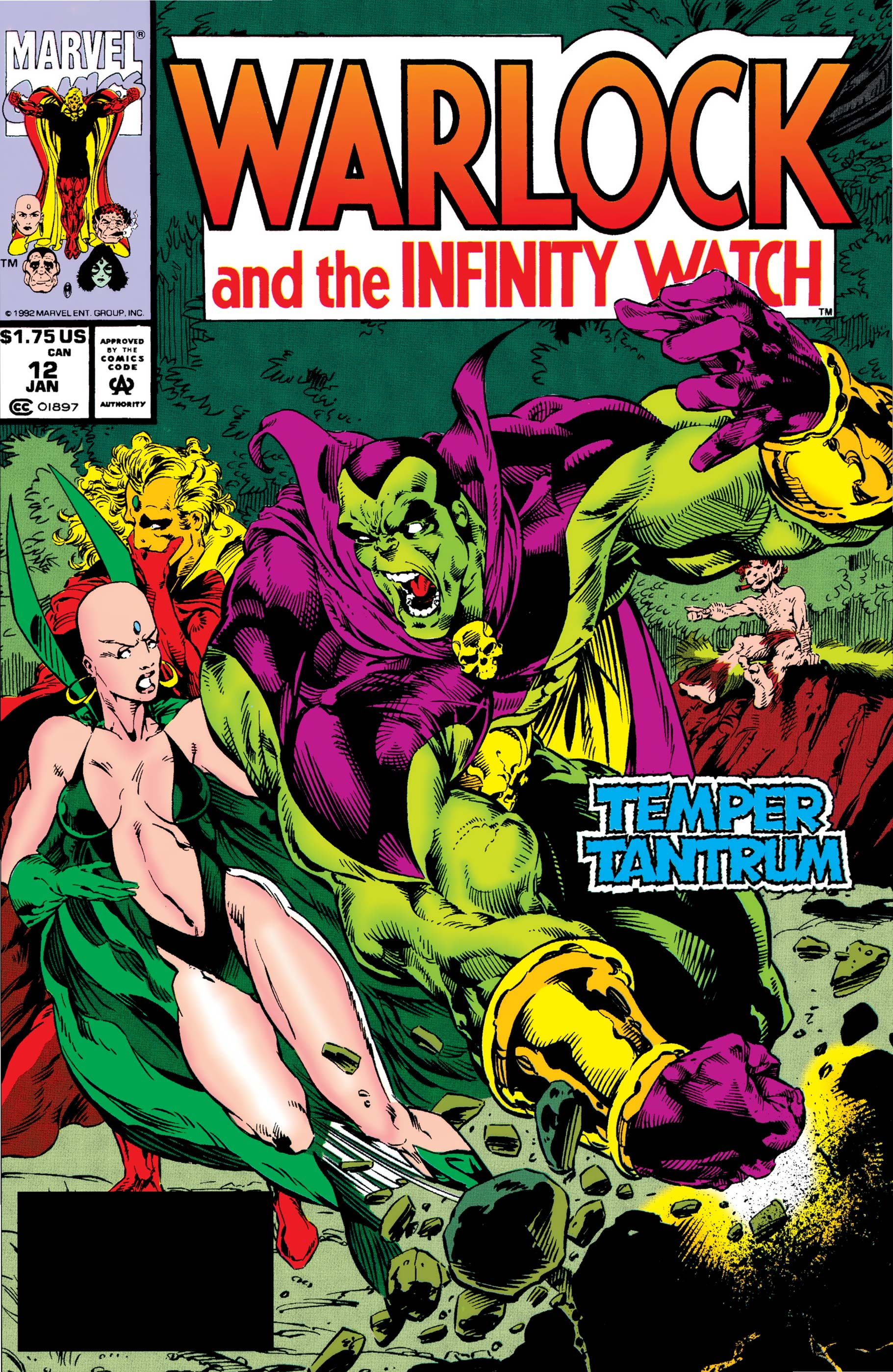 Warlock and the Infinity Watch (1992) #12