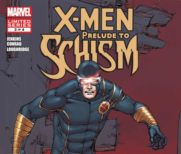 X-MEN: PRELUDE TO SCHISM (2011) #3