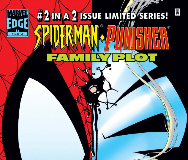 Cover for SPIDER-MAN/PUNISHER: FAMILY PLOT