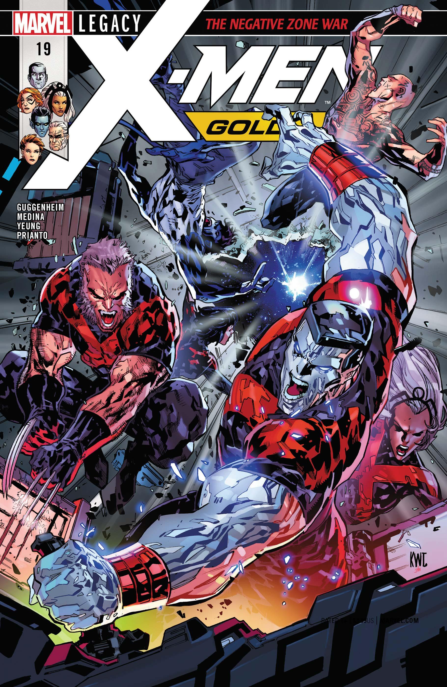 X-Men: Gold (2017) #19