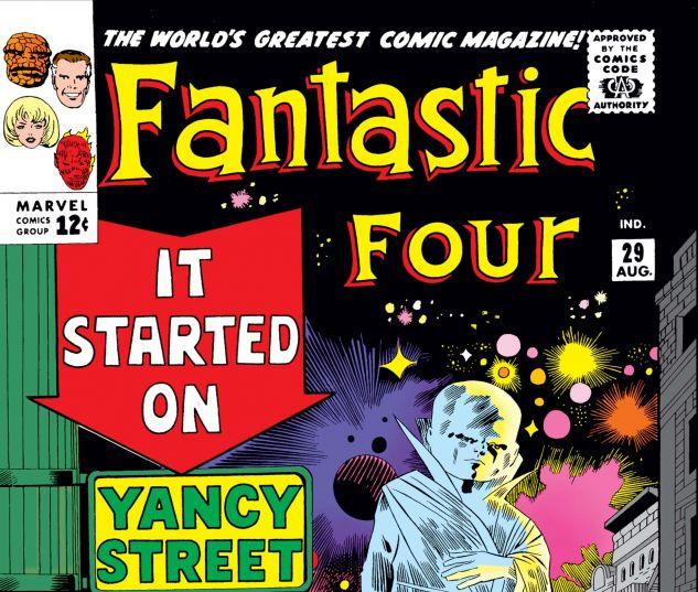 FANTASTIC FOUR (1961) #29