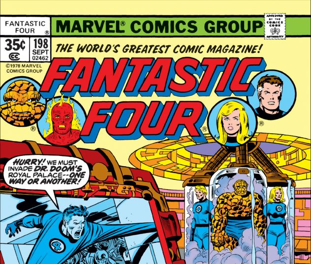 FANTASTIC FOUR (1961) #198