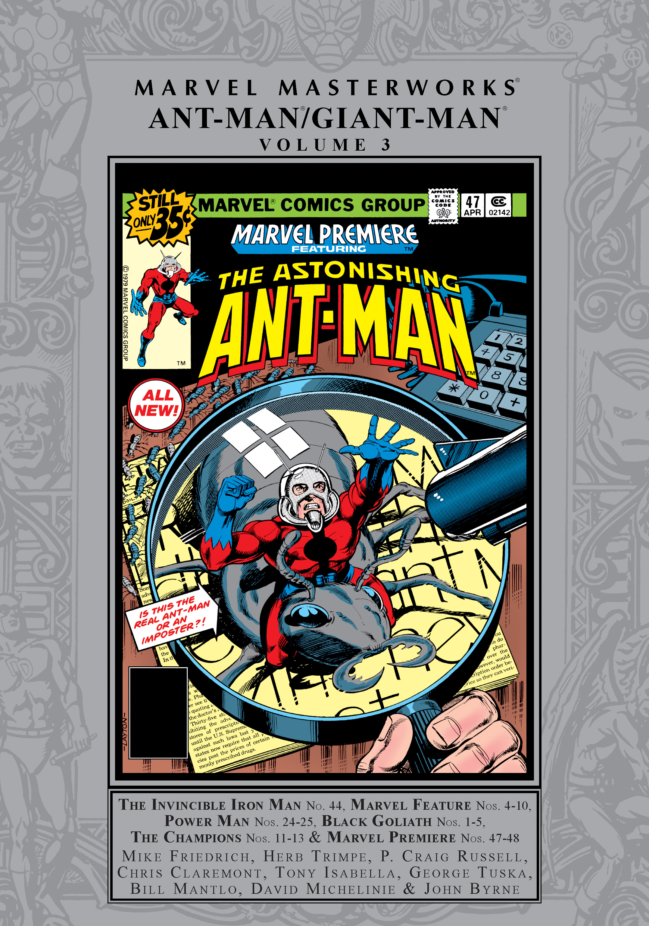 Marvel Masterworks: Ant-Man/Giant-Man Vol. 3 (Hardcover)