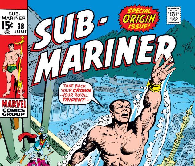 Sub-Mariner #38