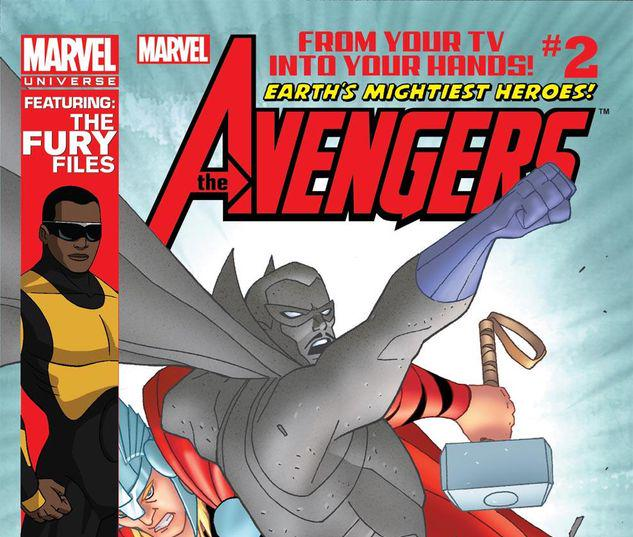 Marvel Universe AVENGERS: EARTH'S MIGHTIEST HEROES  #2
