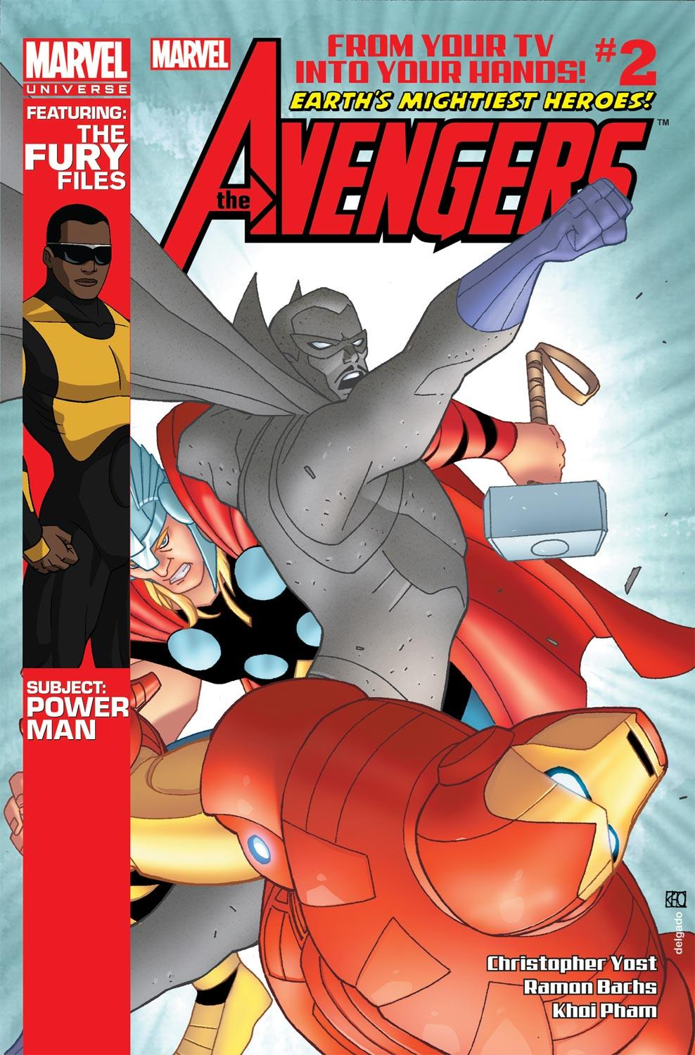 Marvel Universe Avengers: Earth's Mightiest Heroes (2012) #2