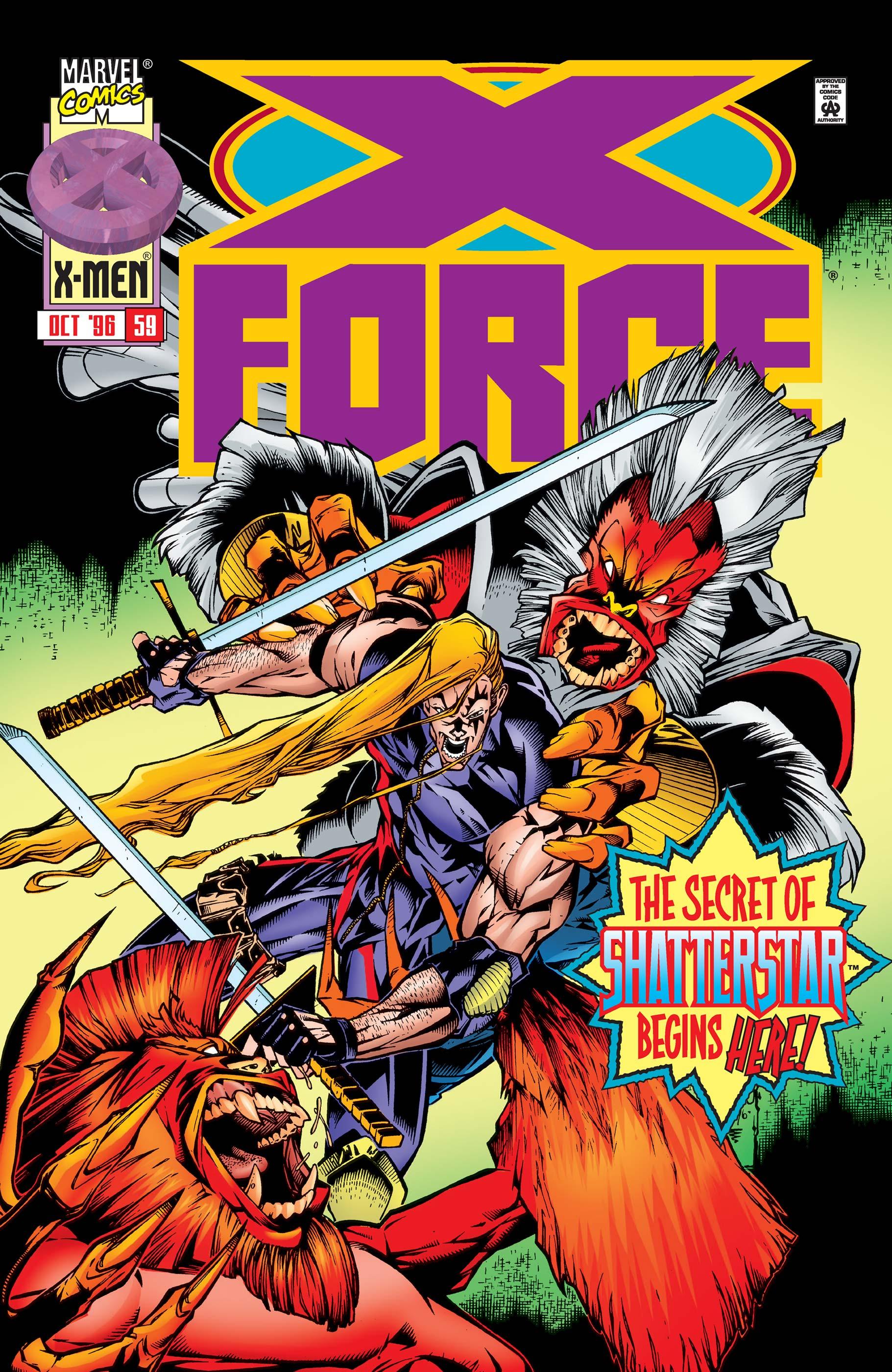X-Force (1991) #59