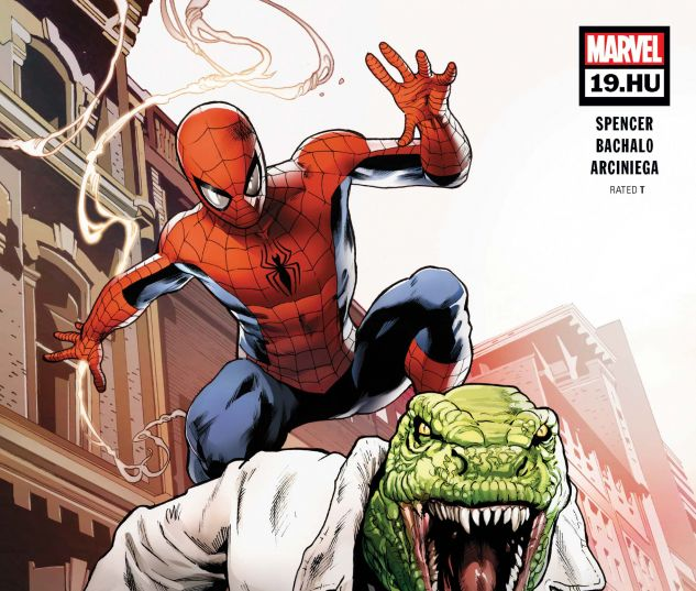 cover from The Amazing Spider-Man (2018) #19.HU