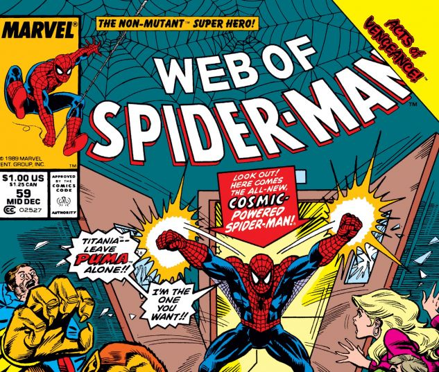 WEB OF SPIDER-MAN (1985) #59