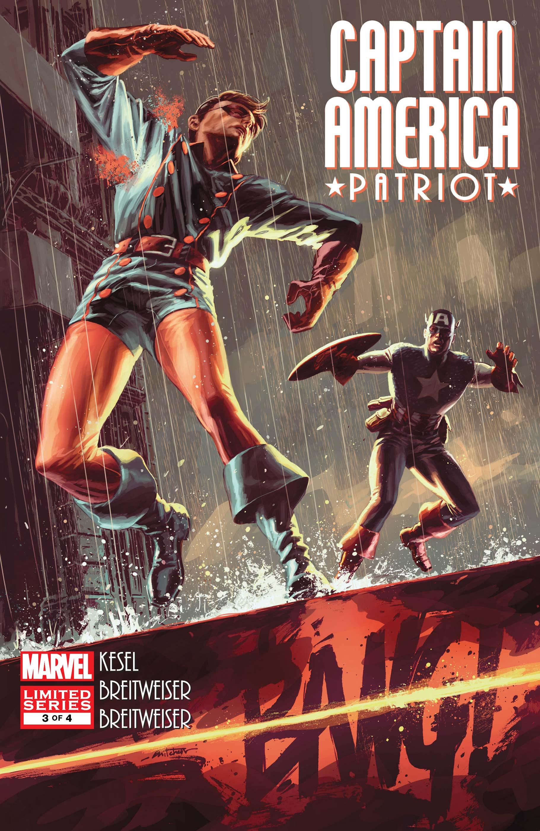 Captain America: Patriot (2010) #3