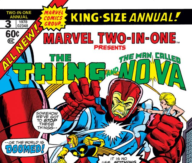 cover for marvel two-in-one annual 3