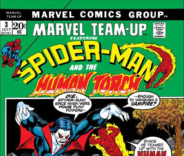 MARVEL TEAM-UP (1972) #3