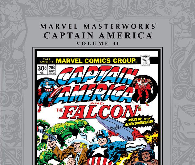 MARVEL MASTERWORKS: CAPTAIN AMERICA VOL. 11 HC #11