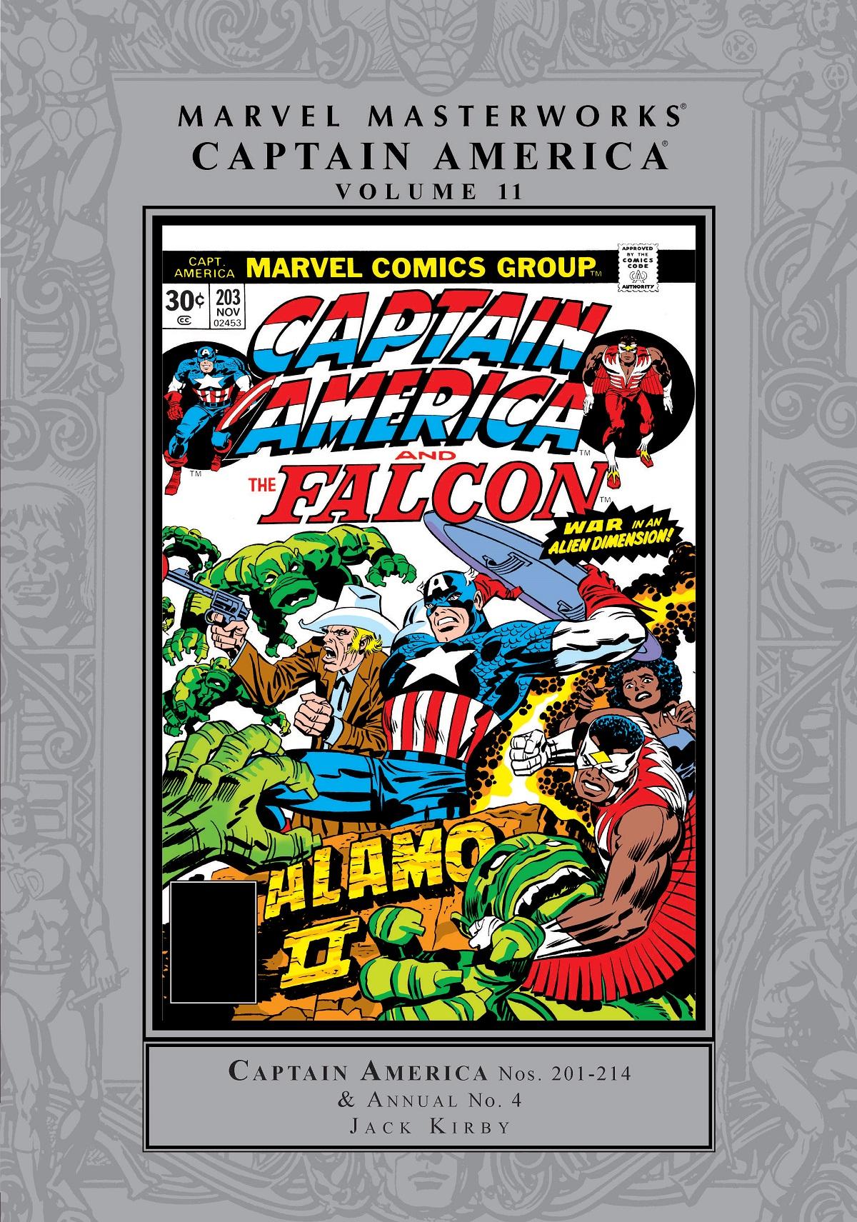 Marvel Masterworks: Captain America Vol. 11 (Hardcover)