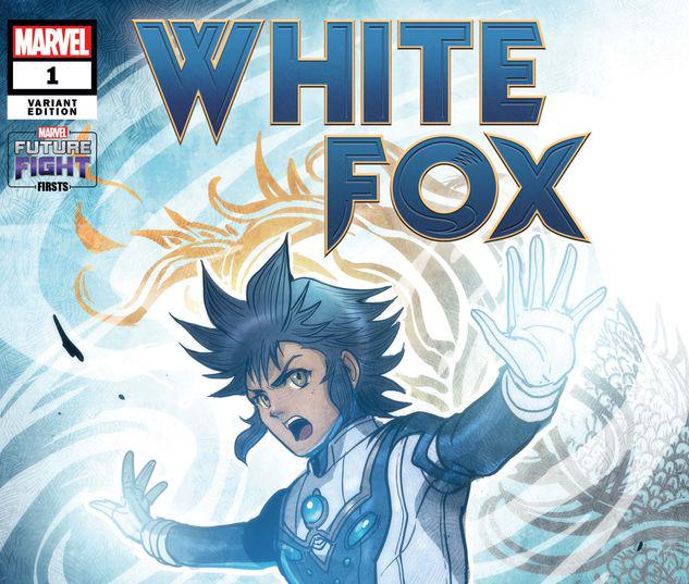 FUTURE FIGHT FIRSTS: WHITE FOX 1 TAKEDA MARVEL'S FUTURE AVENGERS VARIANT #1