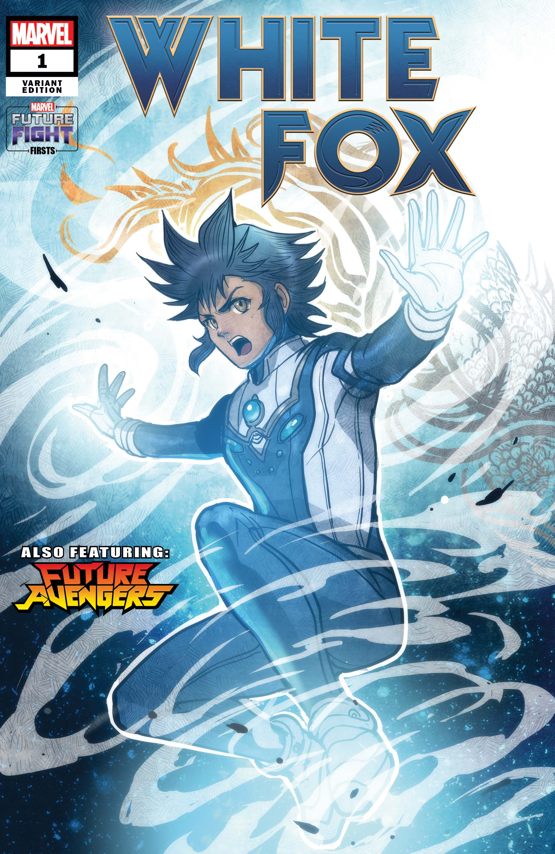 Future Fight Firsts: White Fox (2019) #1 (Variant)