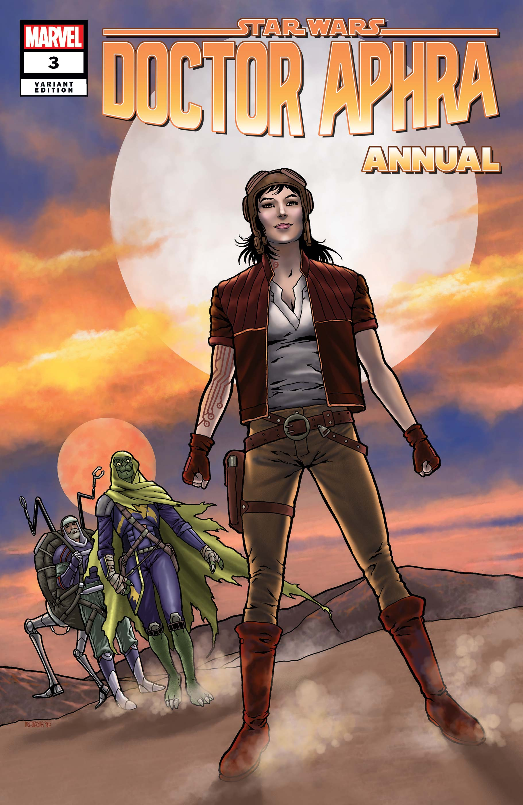 Star Wars: Doctor Aphra Annual (2019) #3 (Variant)