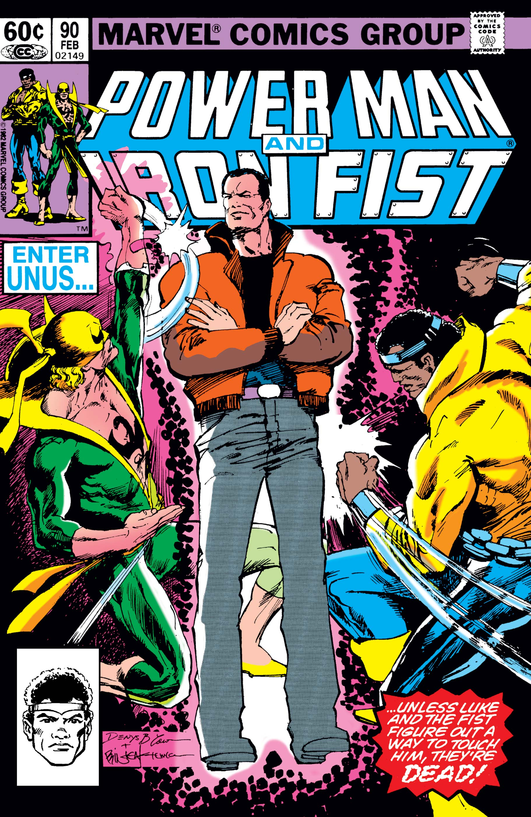 Power Man and Iron Fist (1978) #90