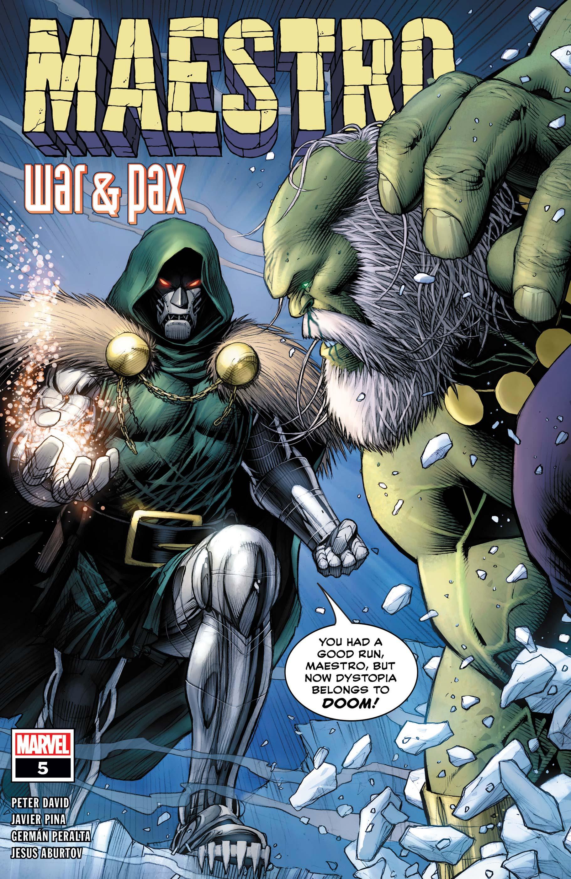 Maestro: War and Pax (2021) #5