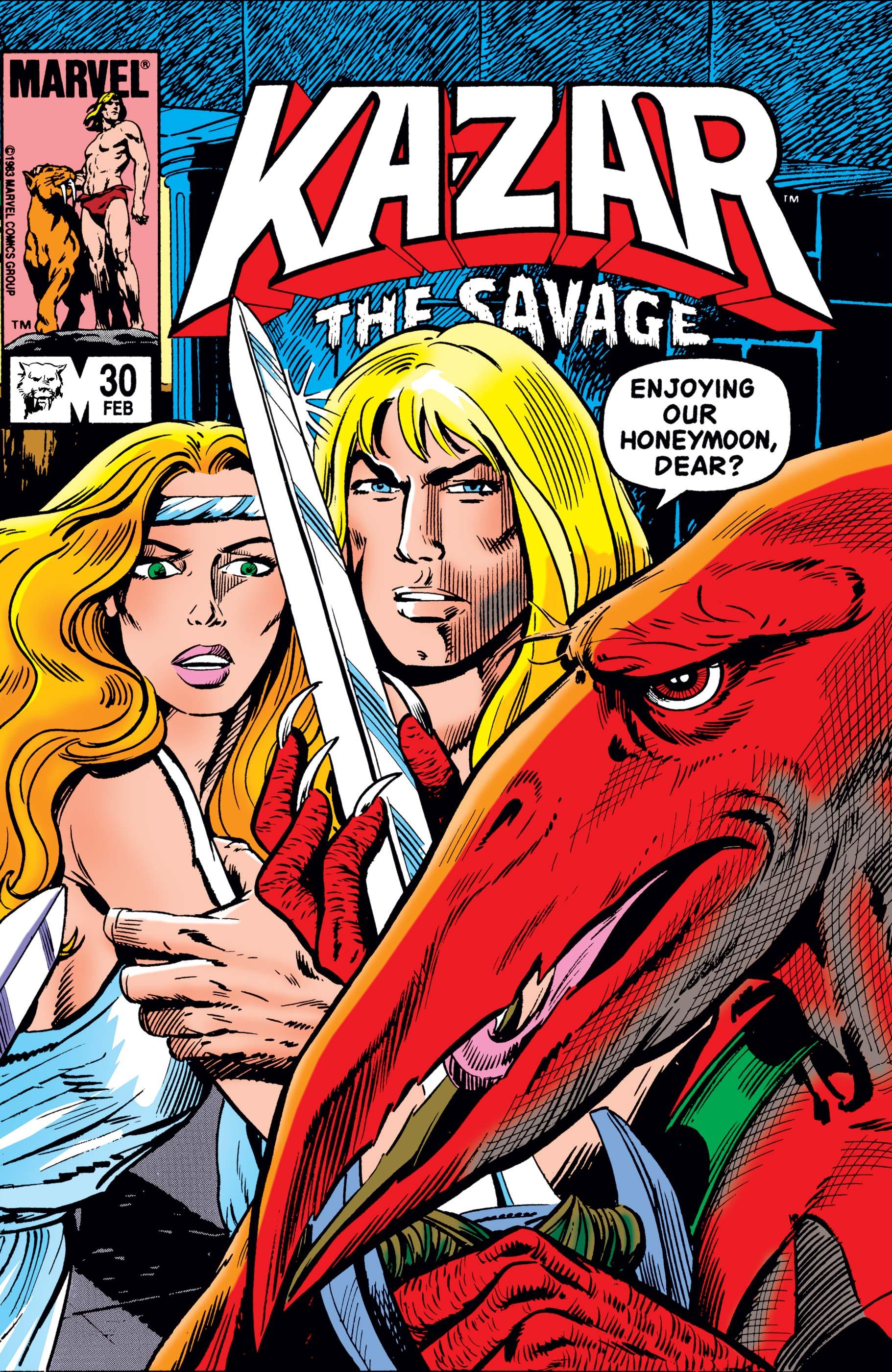 Ka-Zar (1981) #30