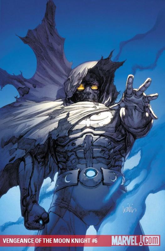 Vengeance of the Moon Knight (2009) #6