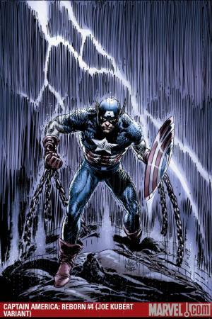 Captain America: Reborn (2009) #4 (JOE KUBERT VARIANT)
