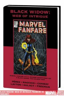 Black Widow: Web of Intrigue (Hardcover)
