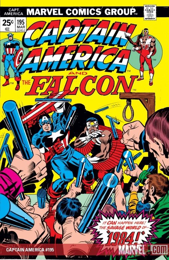 Captain America (1968) #195