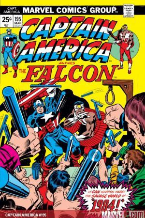 Captain America #195